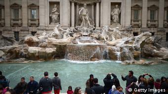 Bildergalerie beliebte Reiseziele Italien Rom Trevi Brunnen