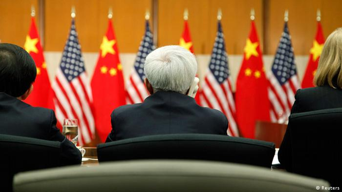 USA China Wirtschaftsdialog Symbolbild