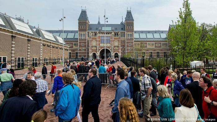 Bildergalerie beliebte Reiseziele Niederlande Amsterdam Rijksmuseum