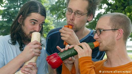 Viennese Vegetable Orchestra (picture-alliance/dpa)