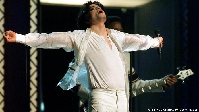 Michael Jackson: Konzert-Auftritt 2001