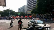 Proteste in Jiangmen