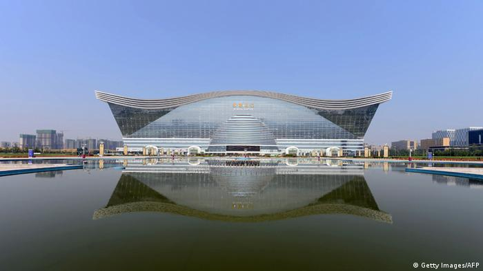 New Century Global Centre in China