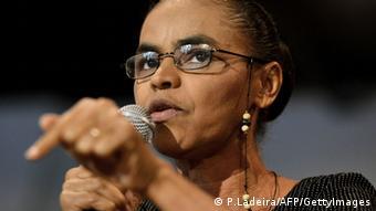 Marina Silva ehemalige brasilianische Senatorin und Umweltaktivistin