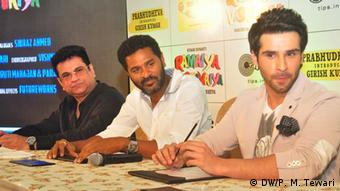 Girish Kumar and Regissure Prabhu Deva in Kalkutta
