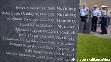 Gedenkstätte für NSU-Opfer