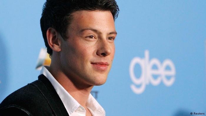Cast member Cory Monteith poses at the premiere of the second season of the television series Glee at Paramount studios in Los Angeles in this September 7, 2010 (Photo: REUTERS/Mario Anzuoni/Files)
