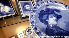 Niederlande Kunst Malerei Rembrandt als Souvenir