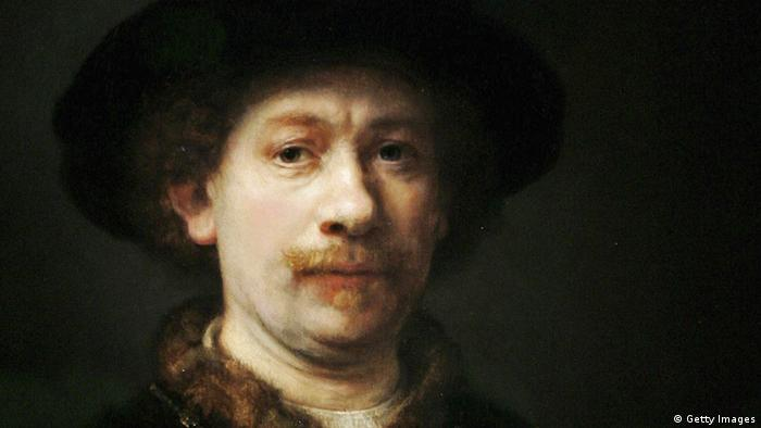 Niederlande Kunst Malerei Rembrandt Selbstporträt