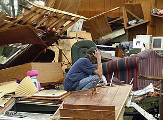 Hurricane Katrina left a trail of destruction in its wake