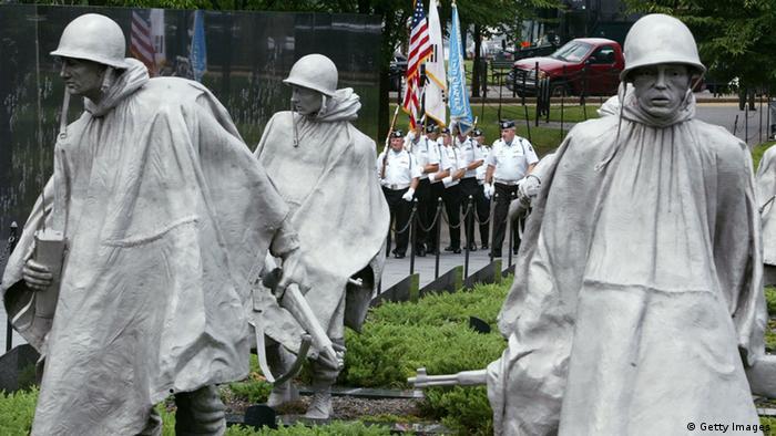 Korea Krieg Gedenkstätte in Washington