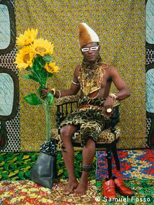 The Chief Who Sold Africa to the Colonialists (1997) by Cameroonian photographer Samuel Fosso