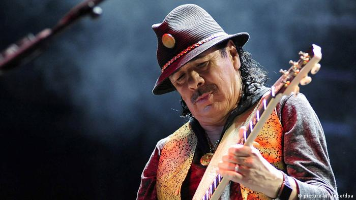 Carlos Santana was supposed to perform (picture-alliance/dpa)