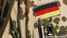 Bundeswehr Uniform deutsche Fahne
