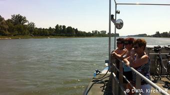 Radtour am Rhein
