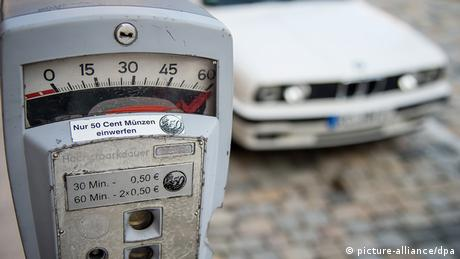 Parking meter, Copyright: picture-alliance/dpa