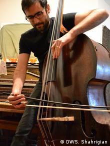 Musician Garth Stevenson (Photo: Shant Shahrigian)