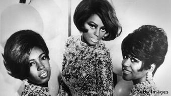 Top Motown soul pop group Diana Ross and the Supremes (Photo by Keystone/Getty Images)
