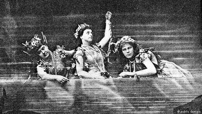Первая постановка оперного цикла Кольцо нибелунга в 1876 году