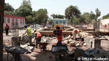 Afghanistan Herat Baustelle Krankenhaus
