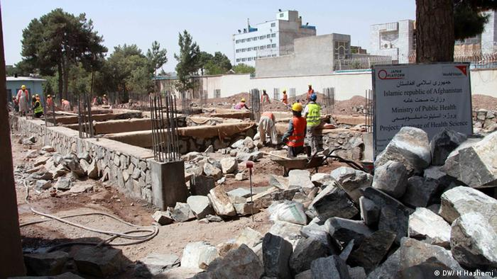 Afghanistan Herat Provinz Baustelle Krankenhaus