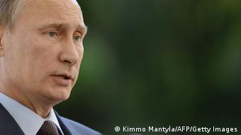 Russlands Präsident Wladimir Putin (Foto: KIMMO MANTYLA/AFP/Getty Images)