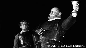 Heinrich George als Götz von Berlichingen, Heidelberg 1934 (Foto: SWR/Helmut Laux)