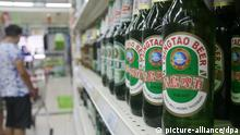 Tsingtao Bier in China