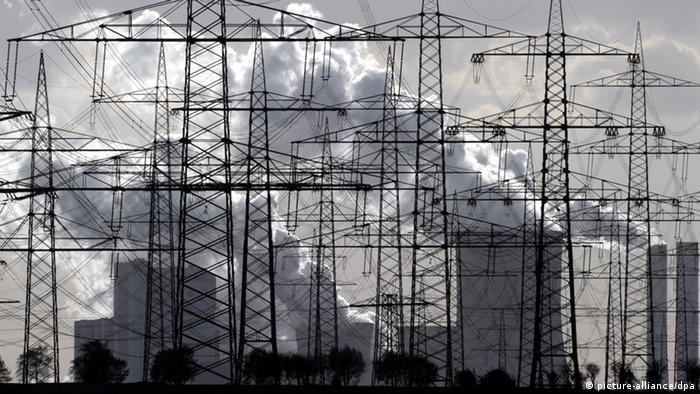 Un central carboeléctrica alemán. Combustibles fósiles son más productivos.