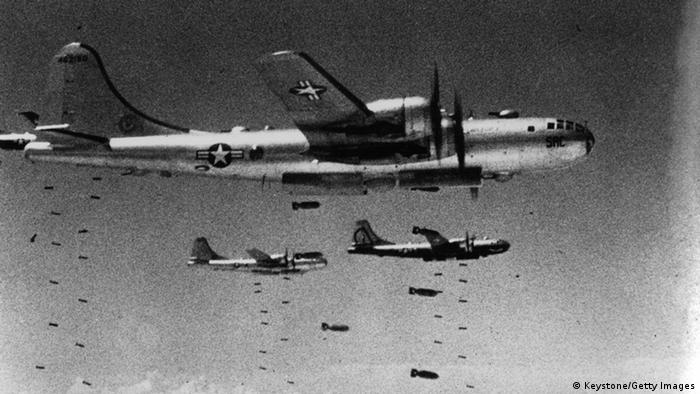 USA Langstreckenbomber B-29 Korea Krieg (Keystone/Getty Images)
