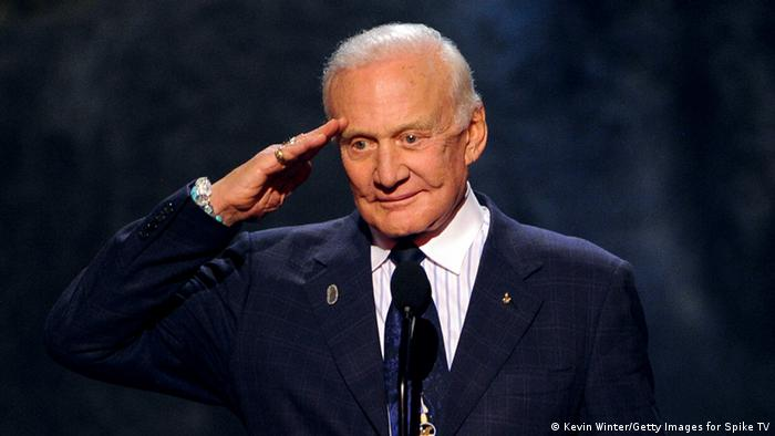 US Astronaut Buzz Aldrin 08.06.2013 (Kevin Winter/Getty Images for Spike TV)
