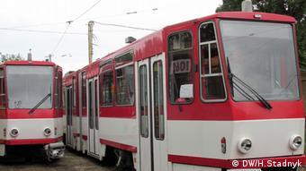 Новенькі трамваї в Ерфурті вже відкатали 20 років