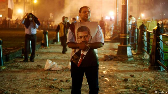 Pro Mursi Demonstation (Foto: REUTERS)