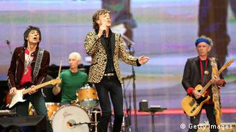 The Rolling Stones auf der Bühne (Foto: Simone Joyner/Getty Images)
