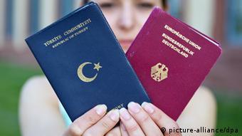 Turska i njemačka putovnica
