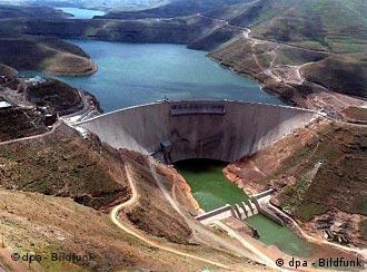 Der Katse-Staudamm in Lesotho