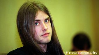 A photo dated 1994 of Varg Vikernes who has been arrested in France on suspicion of planning an attack. (Photo: EPA/JOHNNY SYVERSEN NORWAY OUT / dpa)