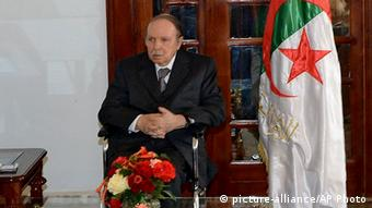 Algerien Abdelaziz Bouteflika (picture-alliance/AP Photo)