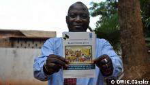 Issaga Kampo, erster Vize-Präsident der nationalen, unabhängigen Wahlkommission (CENI) *** Wer hat das Bild gemacht/Fotograf?: Katrin Gänsler Wann wurde das Bild gemacht?: 16. Juli 2013 Wo wurde das Bild aufgenommen?: Bamako, Mali