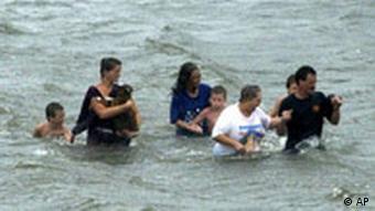 Hurrikan Katarina in New Orleans Überschwemmung