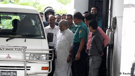 Bangladesch Ali Ahsan Mohammad Mojaheed Urteil Kriegsverbrechen 17.07.2013
