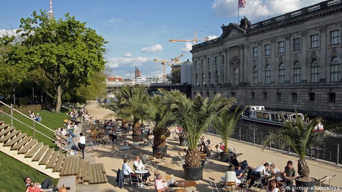 Berlin Strandbar Museumsinsel