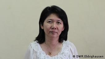 Author and physician Ma Thida. Yangong, Myanmar. (Photo: DW)