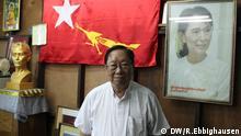 2046 Nyan Win, Anwalt am obersten Gericht und Mitglied der NLD. Wann wurde das Bild gemacht?: erste Woche Mai 2013 Wo wurde das Bild aufgenommen?: Yangon