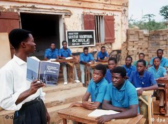 Schüler in Palime (Togo)