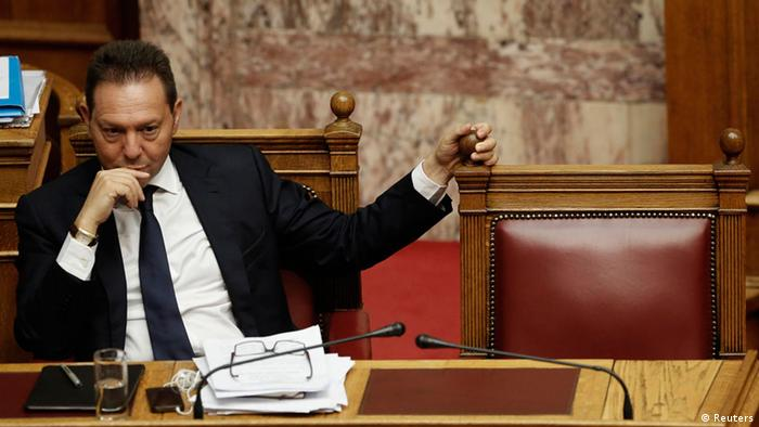 Greek Financial Minister Yannis Stournaras. Photo: Reuters