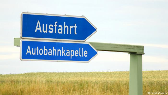În Germania există în prezent 47 de biserici pe marginea autostrăzilor