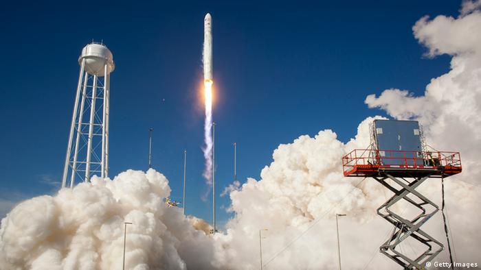 Antares rocket launches from the NASA Wallops Flight Facility on April 21, 2013 in Wallops Islandm, Virginia. (Photo: Bill Ingalls / NASA via Getty Images)