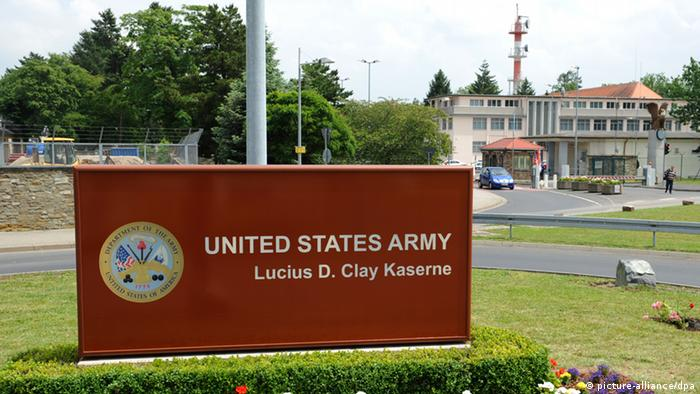 Tthe US Army's Lucius D Clay military base (picture-alliance/dpa)