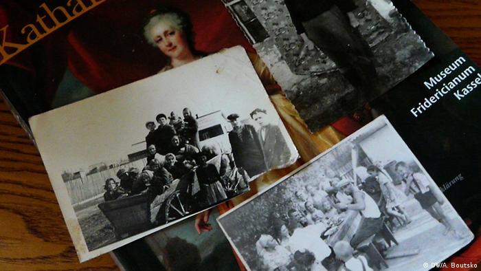 Fotografien aus dem Privatbesitz von Galina Schütz. (c) A.Boutsko, DW